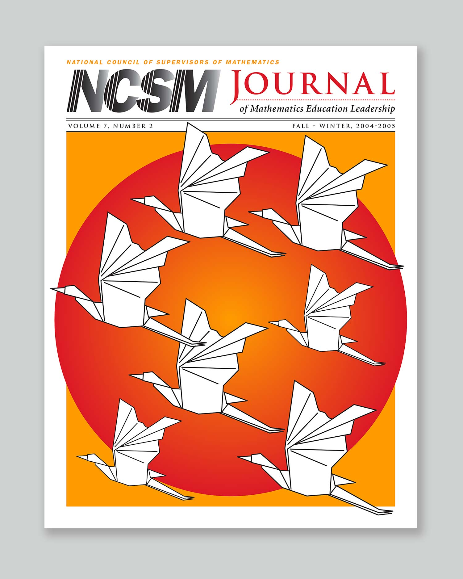 Bonnie Katz Design, NCSM Journal cover