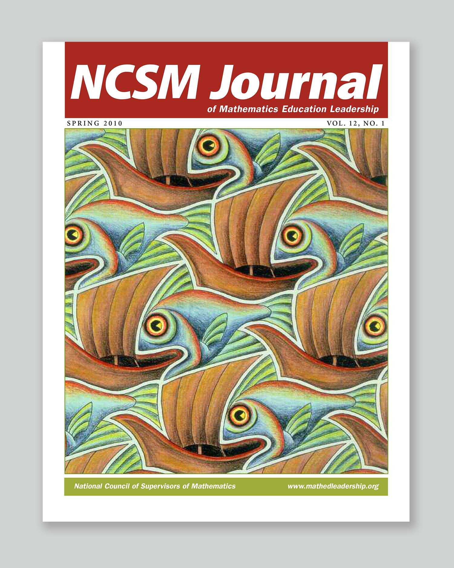 Bonnie Katz Design, NCSM Journal cover Spring 2010