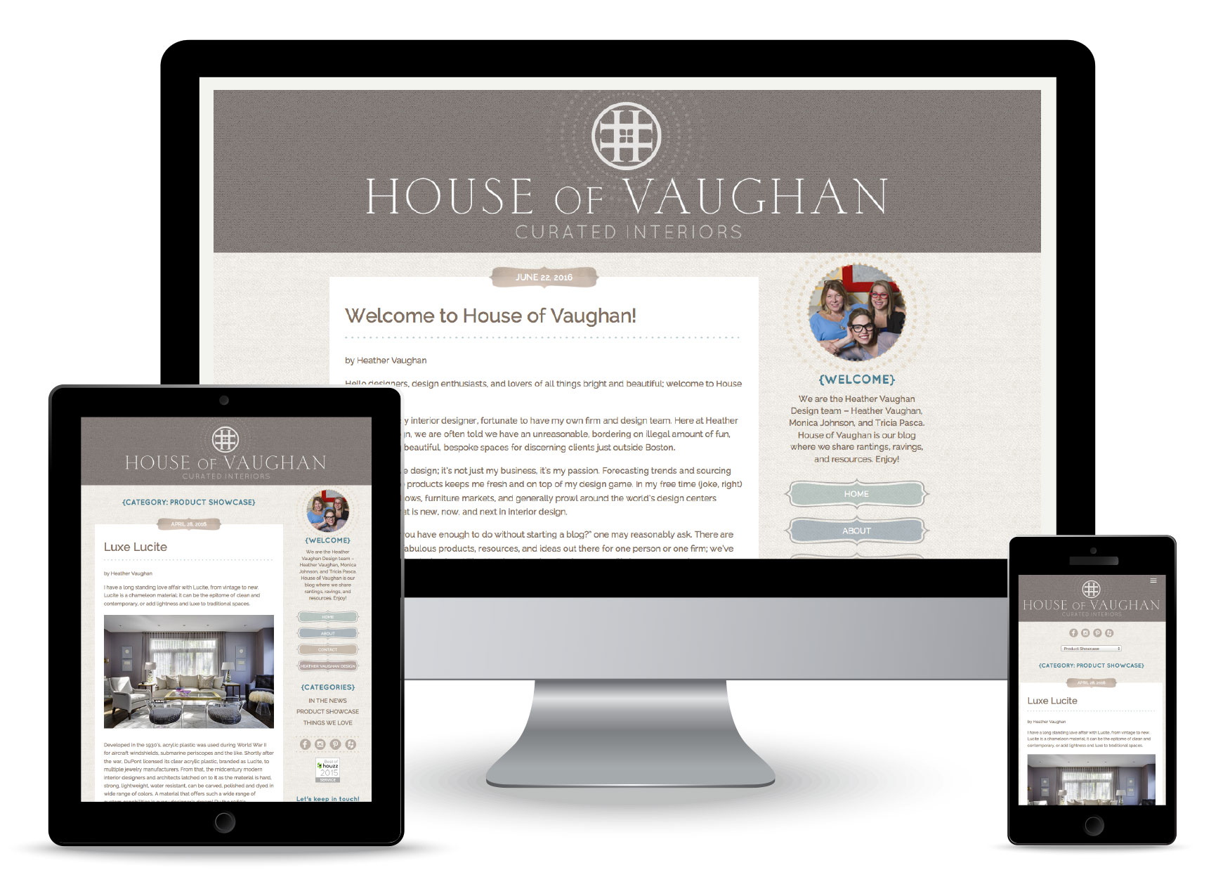 Bonnie Katz Design web portfolio-House of Vaughan